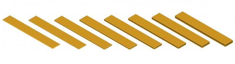 Calços para alinhamento em aço inox