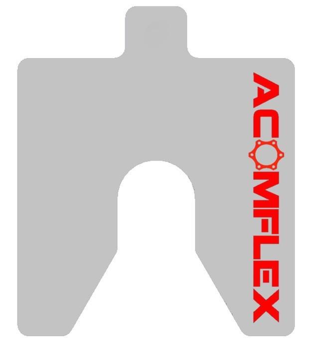 Calços calibrados para alinhamento de compressores