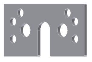 Calços conforme especificação técnica