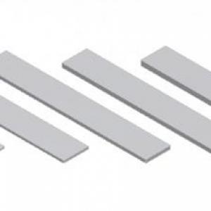 Calços para alinhamento em rolos