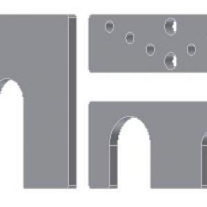 Calços especiais conforme desenho